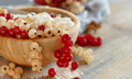 White and red currants and yogurt - PhotoDune Item for Sale