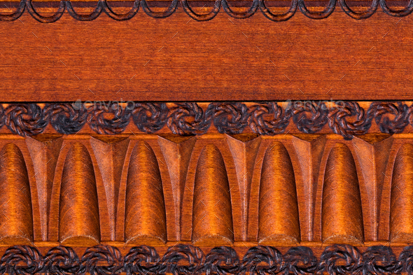 Wooden background in abstract pattern  - Stock Photo - Images