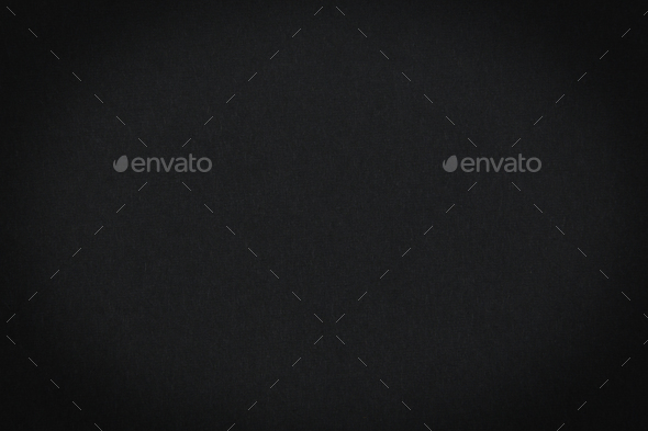 Black paper with vignette, a background - Stock Photo - Images