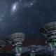 Radio Telescope Array Night - VideoHive Item for Sale