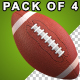 American Football Ball - VideoHive Item for Sale
