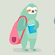 Back to School Animals Hand Drawn Style - GraphicRiver Item for Sale