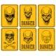 Skulls Danger Signs - GraphicRiver Item for Sale