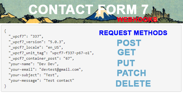 Contact Form 7 Webhooks            Nulled