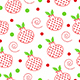 seamless pattern with Christmas pomegranate