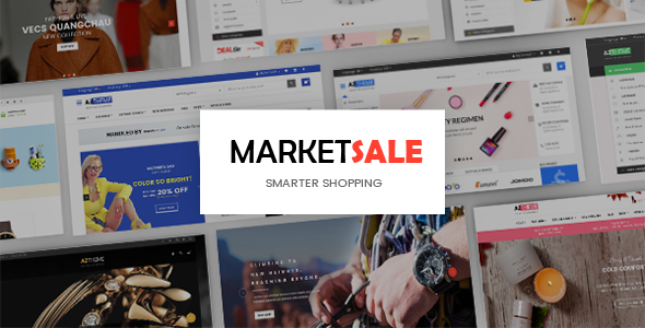 Image of MarketSale - Responsive Shopify Theme for Supermarket, Fashion, Cosmetic, Jewelry & Watches