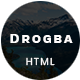 Drogba - One Page Portfolio - ThemeForest Item for Sale