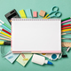 School supplies background - PhotoDune Item for Sale