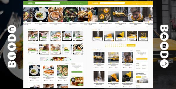 Image of Boodo WP - Food and Magazine Shop WordPress Theme