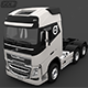 VOLVO FH16 750 Truck 3D Model - 3DOcean Item for Sale