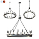 3d Hayden Orb Chandelier - 3DOcean Item for Sale