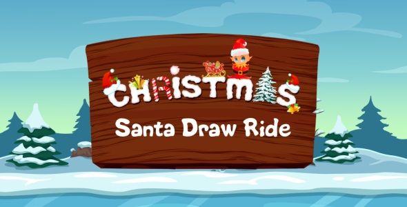 Santa Draw Ride - Road Drawing Unity Game (Admob integrated)            Nulled