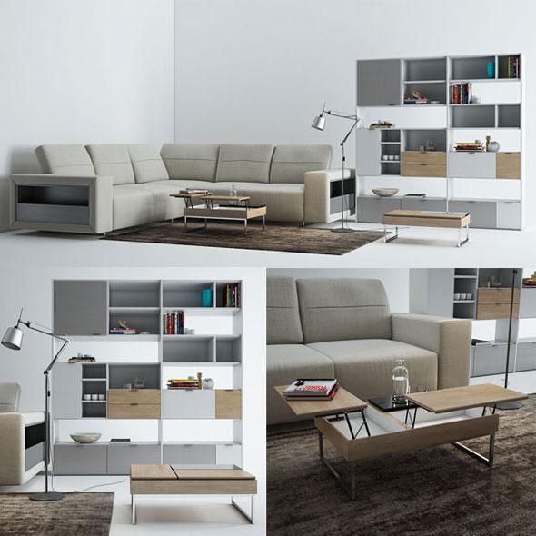 BoConcept Furniture - 3DOcean Item for Sale