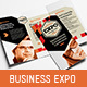 Business Expo Tri-Fold Broc-Graphicriver中文最全的素材分享平台