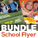 School & Art School Flyer Bundle - GraphicRiver Item for Sale