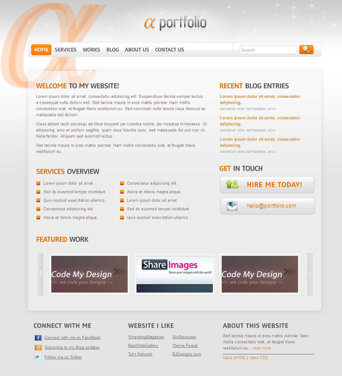 Free Download Alpha-Beta-Gama PSD Template Nulled Latest Version