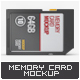 Memory Card Mock-Up - GraphicRiver Item for Sale