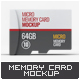 Micro Memory Card Mock-Up - GraphicRiver Item for Sale