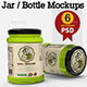 Jar / Bottle Mock Up - GraphicRiver Item for Sale
