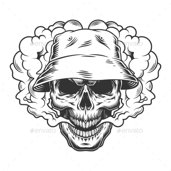 Vaper Skull Concept - Miscellaneous Vectors