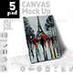 Canvas Mock-Up - GraphicRiver Item for Sale