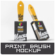 Paint Brush Mock-Up - GraphicRiver Item for Sale