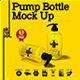 Pump Bottle Mock Up - GraphicRiver Item for Sale