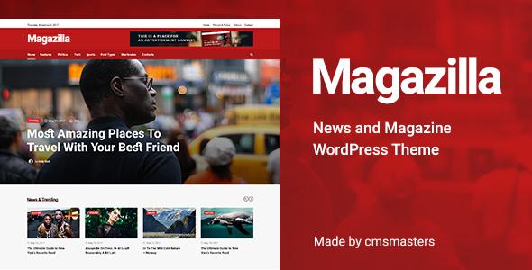 Image of Magazilla - News & Magazine Theme