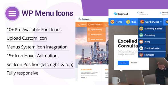 WP Menu Icons - Effectively Add & Customize Icons For WordPress Menus            Nulled