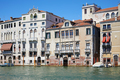 Venice old buildings facades and the grand canal in Italy - PhotoDune Item for Sale