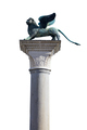 Winged Lion statue, symbol of Venice on white - PhotoDune Item for Sale