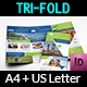 Travel Guide Tri Fold Brochure Template - GraphicRiver Item for Sale