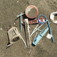 Plastic material on sand beach - PhotoDune Item for Sale