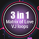 Hearts of Love VJ loops - VideoHive Item for Sale