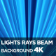 Lights Rays Beam Background 4K - VideoHive Item for Sale