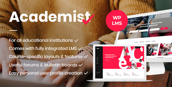 Image of Academist - A Modern Learning Management System and Education Theme