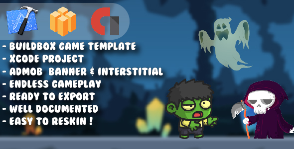 Mini Zombie Boy - Xcode Project & Buildbox Game Template            Nulled