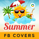 Summer Sale Facebook Cover Templates Bundle - 10 Designs - GraphicRiver Item for Sale