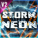 Neon Storm Logo Intro - VideoHive Item for Sale