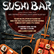 Sushi Flyer - GraphicRiver Item for Sale