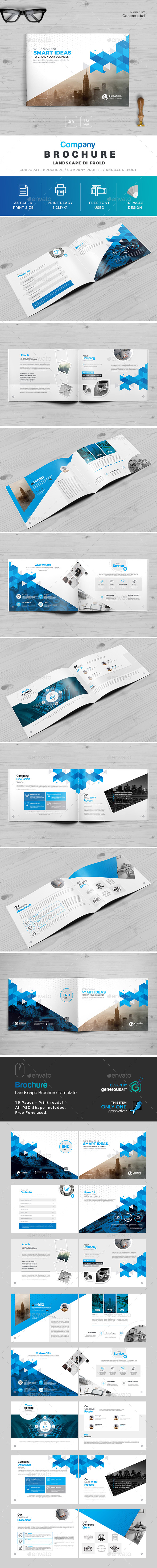 Business Landscape Brochure - Corporate Brochures