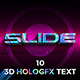 3D Holographic Text Effects - GraphicRiver Item for Sale