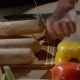 Shot of a Man Tying Knots for a Home-made Sausages - VideoHive Item for Sale