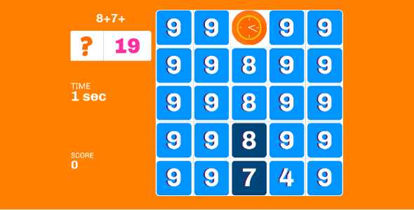 Math Game: Numbers            Nulled