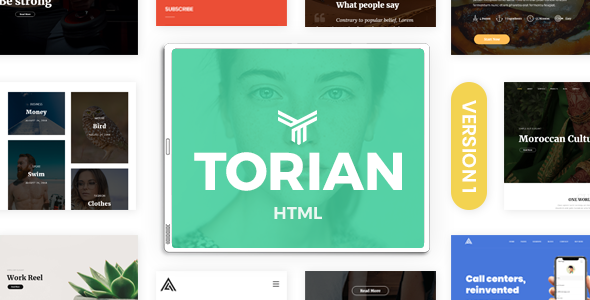 Torian | Elegant Multi-Purpose HTML Template - Site Templates