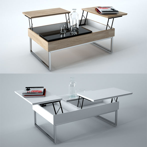 BoConcept Chiva Coffee Table - 3DOcean Item for Sale