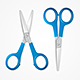 Realistic Detailed Scissors Set - GraphicRiver Item for Sale
