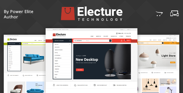 Electure - Multipurpose OpenCart 3 Theme - Shopping OpenCart