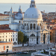 Santa Maria della Salute church elevated view  in Venice before sunset - PhotoDune Item for Sale
