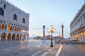San Marco square, nobody in the early morning in Venice, Italy - PhotoDune Item for Sale